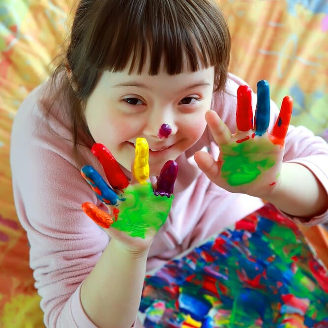 Understanding the learning profile for Downs Syndrome children
